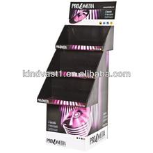 dvd/books cardboard floor stand display