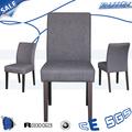 Usado estofado de madeira sólida sala de jantar cadeira/hotel cadeiras de madeira banquete/utilizado mobília do hotel