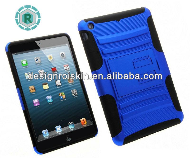 custom design case for ipad mini kickstand combo case