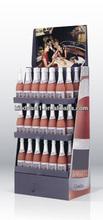 custometic bottle paper floor stand display