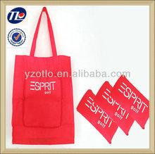 Supermarket Nonwoven Fold Shopping Zipper Bags