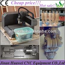 Wood, copper, iron, aluminium columns wide usage cheap 3d 3030 mini rotary cnc router