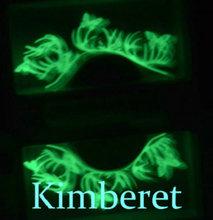 wholesale decorative fluorescent paper lashes