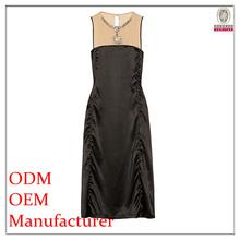 2014 summer women's clothing garment apparel direct factory OEM/ODM manufacturing fancy maxi office uniform dresses