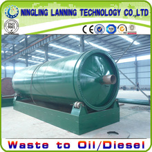 Most advanced carbon black processing machine waste tyre pyrolysis to fuel oil machine.