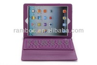 Folding Stand Leather Case Wireless Bluetooth Silicon Keyboard Cover for iPad Air for iPad 5