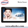10 inch motion senor digital information display advertised digital frame