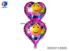 Birthday party balloon decorations