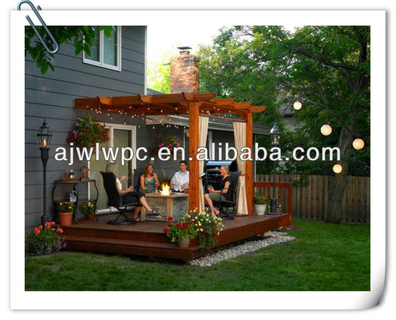 pergola kits wooden carport awning flower vine wood shed leisure park