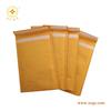 flap with white velcro golden kraft bubble envelope
