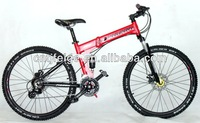 """26"""" folding suspension MTB bicycle/cycle/bike FP-S08"""