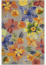 Hand hooked outdoor PP or woollen loop pile carpet,outdoor flower carpet rugs.