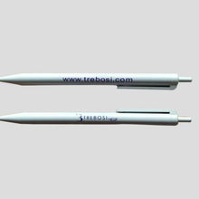 Simple Plastic Contour Promotional Pens