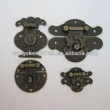 various latches for wooden box, decorative mini wooden box latch, box locks