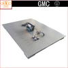LED AC/DC Power Chequer Steel Plate Iron/U Steel Beam Electronic Floor Weighing Scale with Leg for 1t 2t 3t 5t 10t SCS-A