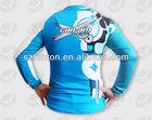 cheap custom sublimated long sleeve green motorcycle racing shirt