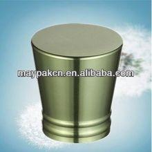 perfume bottle cap flower /green perfume cap