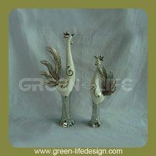 Vintage decoration ceramic turkey