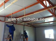 128SQM Eco-friendly Material Assembled Prefab Room