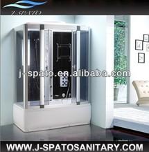 2013 China Hangzhou OEM manufacturer new type sliding glass comfortable Massage Shower Rooms