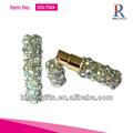 bling bling rhinestone diamantes blancos de perfume botella de perfume de cristal con la fábrica de china