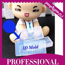 3D nail acrylic mold making