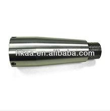 CNC lathe machining pipe connecting head,304 404 stainless steel adapter made by DONGGUAN