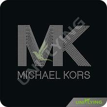 Crystal Bling Rhinestone Iron On Letters MK