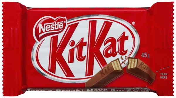Kit Kat 4 Fingers Chocolate Bar 45g - Buy Kit Kat 4 Fingers Chocolate ...