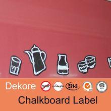 children use chalkboard sticker self adhesive blackboard sticker hot sale