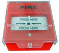 romper el fuego detector de vidrio