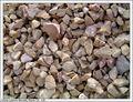 paisagismo de cascalho de pedra decorativa batatasfritas