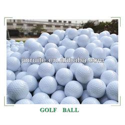 elastic golf ball/ hardness 3layer golf/ interesting golf ball