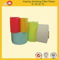 Caliente de la venta a prueba de agua del filtro de aire de papel material de filtro para filtro de coche para el brasil,