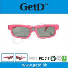 USB rechargeable DLP Link Projectors sharp active shutter glasses--GL1100