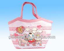 2014 China factory printing shopping bag with handble made in Dongguan Factory