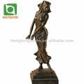 fundição de bronze estátuas de vida tamanho design
