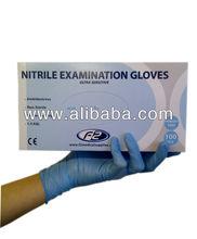Powder free / Allergy Free/ Nitrile Examination Gloves 1.5 AQL 4 Sizes