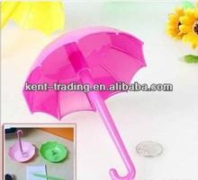 umbrella shape ballpoint pen Plug bush logo pen