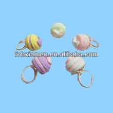 Beautiful Christmas Gift Girls Like Fancy Decorative Macaron Ring