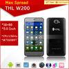 2014 NEW THL W200 5inch 1GB RAM 8GB ROM 1280*720 android 4.2 THL W200 mtk6589 quad core phone