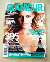 2013-2014 China fashion periodical / monthly magazine printing / catalog printing QC369