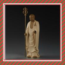 Make custom resin sculpture large standing Buddha Ksitigarbha statue