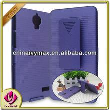 mixed phone case for Alcatel OT6030 belt clip case