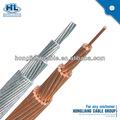 2014 vendas melhor preço alta qualidade baratos alumínio condctor 10mm 16mm 25mm 35mm 70mm fio de cobre desencapado iec60104