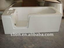 Hot sale Acrylic walk in bathtub corner with high quality