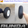 high quality pneumatic trolley wheels 3.50-6