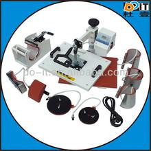 hot sale heat press machine combo,8 in 1 combo heat press machine,heat press machine combo 8 in 1