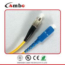 Multi Mode Deplex FC/APC-SC/APC fiber optic patch cord With Low Insertion Loss