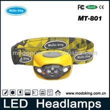 Strobe & Red Night Vision CREE LED Wholesale Headlamp (MT-801)